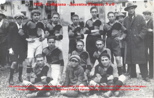 1925 Colligiana Juventus Firenze 3 a 0