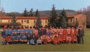 1980 81 Amichevole a Coverciano con Under 21