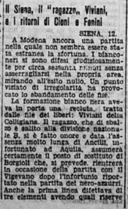 1935 11 13 Il Littoriale Viviani al Siena