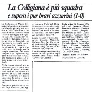 1983 05 05 Lanazione Colligiana Under 18 1 a 0