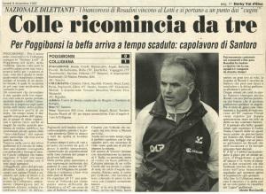 1997 12 08 Il Cittadino Derby 1 a 0