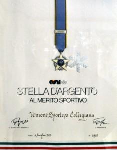 2003 Stella Argento CONI
