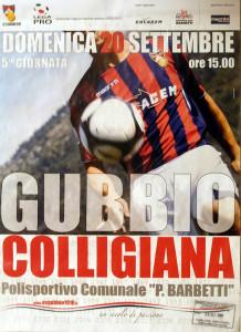 2009 09 20 Gubbio Colligiana 0 a 1