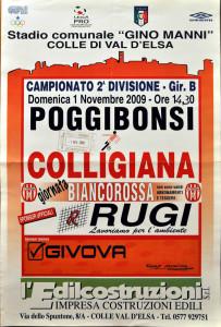2009 11 01 Colligiana Poggibonsi