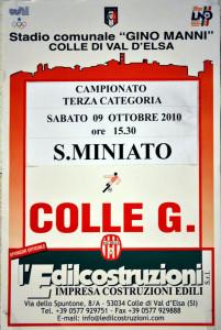 2010 10 09 Colligiana San Miniato 4 a 0