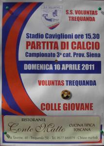 2011 04 10 Voluntas Trequanda Colle G 3 a 1