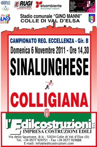 2011 11 06 Colligiana Sinalunghese