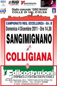 2011 12 04 Colligiana Sangimignano