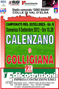 2012 09 09 Colligiana Calenzano