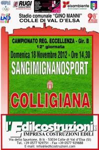 2012 11 18 Colligiana Sangimignanosport 1