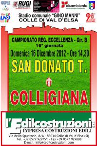 2012 12 16 Colligiana San Donato Tavarnelle