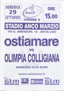 2013 09 29 Ostiamare Colligiana