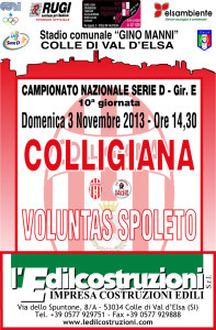 2013 11 03 Colligiana Voluntas Spoleto