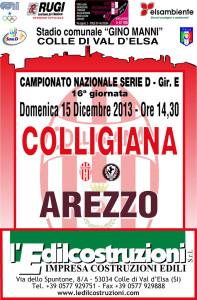 2013 12 15 Colligiana Arezzo