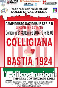 2014 09 21 Colligiana Bastia