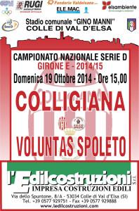 2014 10 19 Colligiana Voluntas Spoleto