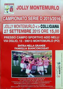 2015 09 27 Jolly Montemurlo Colligiana