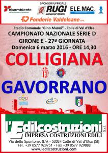 2016 03 06 COLLIGIANA GAVORRANO