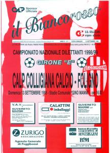 1998 99 IL BIANCOROSSO