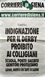 2015 12 09 Corriere di Siena