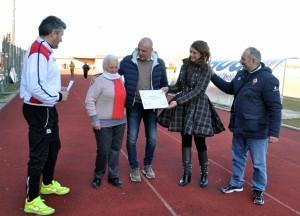 29/1/2017 Colligiana Delta Calcio Rovigo 0 - 0; Premiazione di Bolena