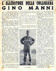 1958 Il campo di Siena Gino Manni