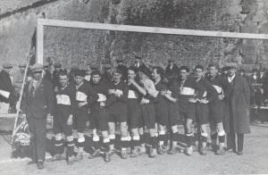 1926 27 siena colligiana 2 a 1 s prospero sguerri viviani cappellino conforti antonelli marzini schmidt acc viviani bastianoni