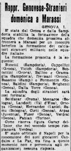 1948 04 02 Corriere d Sport Landolfi nella rappresentativa