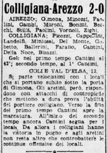 1948 04 13 Corriere d Sport Colligiana Arezzo 2 0