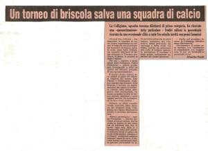 1982 Gazzetta dello Sport Torneo di briscola