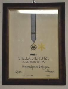 1993 Stella Bronzo CONI