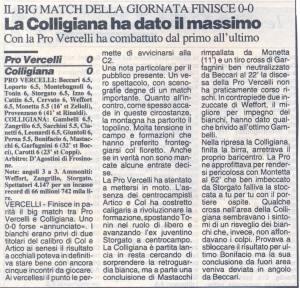 1994 03 28 LaNazione ProVecelli Colligiana 0 a 0