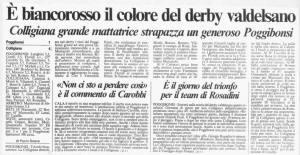 1997 03 24 poggibonsi Colligiana 1 a 4