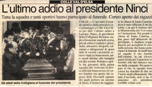 1997 12 La Nazione i funerali di Luciano Ninci