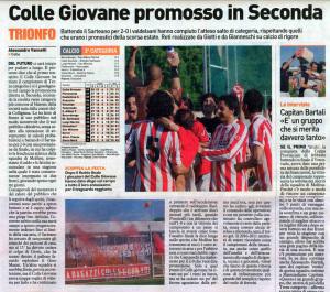 2011 05 09 Colle promossa