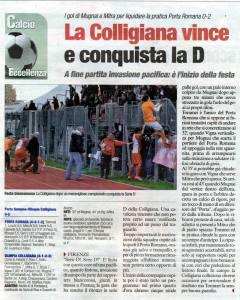 2013 04 15 CdiSiena Colligiana vince e conquista la D