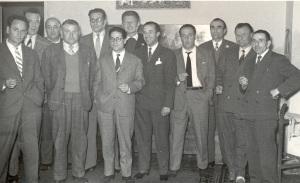 1957 58 direttivo Cambi Corsi Selvaggi Gallanti Carletti Virgilio Busini Cigni Paoli Berti Baroncelli Caporali