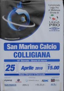 2010 04 25 San Marino Colligiana 1 a 2