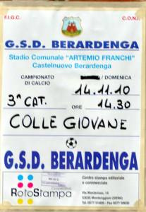 2010 11 14 Berardenga Colligiana 0 a 0