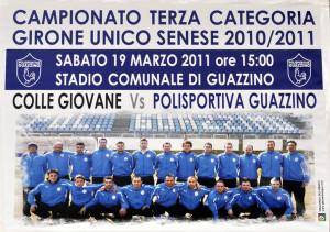 2011 03 19 Guazzino Colligiana 1 a 1