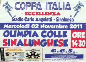2011 11 02 SINALUNGHESE COLLIGIANA Coppa Italia