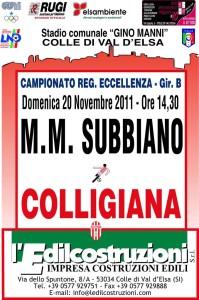 2011 11 20 Colligiana Subbiano