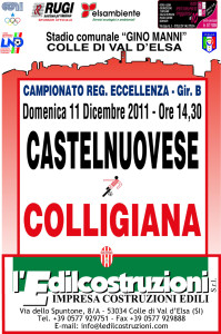 2011 12 11 Colligiana Castelnuovese