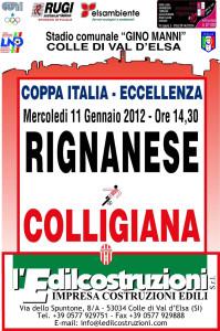 2012 01 11 Rignanese Coppa Italia
