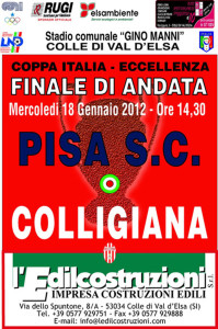 2012 01 18 Colligiana Pisa Coppa Italia