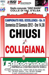 2012 01 22 Colligiana Chiusi