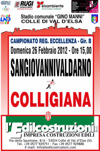2012 02 26 Colligiana Sangiovannivaldarno