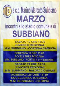 2012 03 25 Subbiano Colligiana 2 a 0