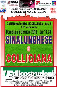 2013 01 06 Colligiana Sinalunghese