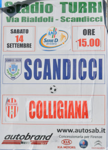 2013 09 14 Scandicci Colligiana